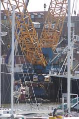 Gottwald AK 680-3 at Parkol Marine (yogi59) Tags: new england mobile river star marine britain crane yorkshire united great north kingdom east whitby 1200 hull launch build trawler ton guiding esk sarens gottwald parkol h360 ak6803