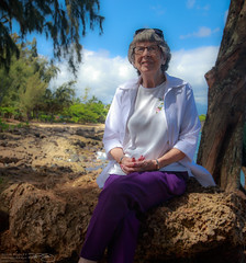 Mom (dougsooley) Tags: canon mom hawaii oahu mother waimea mothersday canon1dx dougsooley