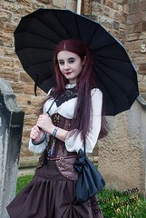 _MG_7460 (Calvin Hughes Photography) Tags: blue man flower me glass smile abbey grave lady umbrella hair out photography glasses coast pier blood model alley couple stream punk doll gun day looking close dress purple grim reaper harbour weekend vampire c abby watch tomb great gothic goth over posing calvin graves steam doorway doctor whitby sword april bible guns stick crabs van gravestones crossbow hold hughes goths plague magnify kilowatt helsing spier spear 26th 2014 glower preist 26414 monolesa