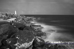 Blurred Waves on Portalnd Rocks (Mark R Farrington) Tags: uk longexposure sea england blur canon portland landscape photography eos coast scenery rocks waves outdoor motionblur dorset 7d senic desc2012