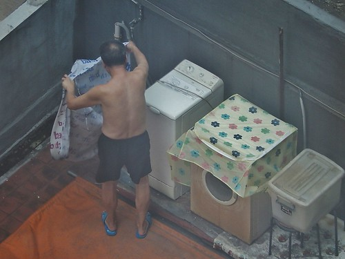 Doing the Washing on the 13th Floor