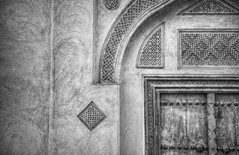 Sh. Isa bin Ali (heshaaam) Tags: door bw house architecture bahrain pattern decay traditional