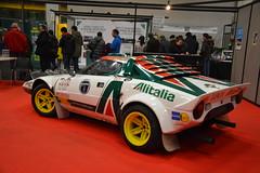 AutoMotoRetro 2015 (ahellmann) Tags: auto italien italy classic car torino italian market parts oldtimer markt turin lancia stratos raduno 2015 ersatzteile fiere storiche automotoretro