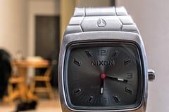 NixonViaNikon (BigBoss902) Tags: nikon time watch scratches nixon micro worn