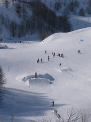 Snowpark Module (gourette domaine skiable) Tags: snowpark gourette