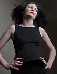 yasmin1 (D Tee) Tags: model windswept lbd darkhair upshot rockchick