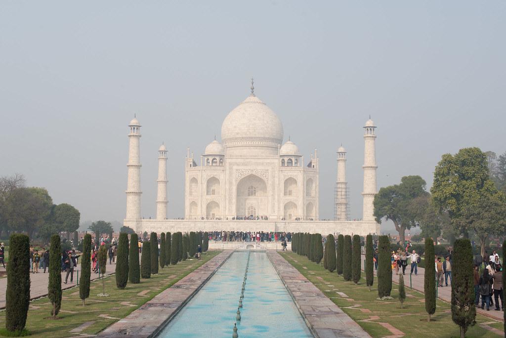 The Taj Mahal - what a sight