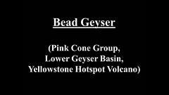 Bead Geyser (August 2014) (HD) (James St. John) Tags: bead geyser pink cone group lower basin yellowstone hotspot volcano wyoming erupt erupts erupting eruption eruptions