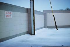 Car Park (fitzy.brian) Tags: ireland snow colour film 35mm canon clare kodak 400 a1 carpark portra fd filmisnotdead longlivefilm