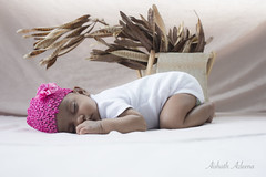 Little sleeping beauty (Aishath Azleena) Tags: pink baby love home nature girl smile nikon infant sleep daughter maldives d800 windowlight dryleaves shain azu mal shalish azleena nikond800