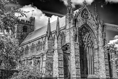 Carlisle Cathedral (Pensioner Percy) Tags: architecture nikon cathedral gothic cumbria bishop carlisle anglican stonemason carlislecathedral bordercity northwestengland augustinianpriory niksoftware silverefexpro nikonnikkor35mmf18gafsdx d7200