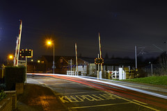 The Level Crossing, Noose Lane, Willenhall 12/02/2016 (Gary S. Crutchley) Tags: street uk travel england urban black west heritage history public station night train dark ed evening town nikon long exposure raw crossing slow nightscape shot nightshot image time britain united country great transport railway kingdom s level shutter after portobello local nightphoto af nikkor townscape staffordshire westmidlands walsall midlands d800 blackcountry staffs 1635mm nightimage nightphotograph willenhall f40g walsallweb walsallflickr