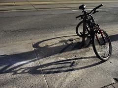 Bike-ism 1 (geowelch) Tags: bicycle urbanfragments dundasstwest olympus17mmf28 olympusepl5