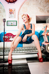 Pin Up Caroline - Sixties (freddy.roma) Tags: red music france beauty up french nice glamour pin legs guitar cannes famous fineart leg caroline jazz babe swing cover barefoot singer blonde heels roll liveband pinup gretsch fellows facebook crazyinlove rockn cotedazure youtube theswing httpswwwyoutubecomchanneluc6qps8vs3hsuwfauqhyr1a theswingfellows freddyroma pinupcaroline thesswingfellows