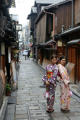Geiko in  (Jelltex) Tags: japan kyoto geiko gion jelltex jelltecks