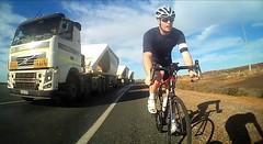 Cycling in Port Hedland (Jussarian) Tags: bike bicycle cycling roadtrain roadbike roadriding roadie pilbara porthedland