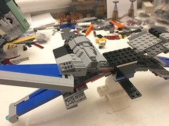 better way to do this ? (atlas_er) Tags: star force lego wing 7 x xwing wars episode vii moc t70 starfighter awakens
