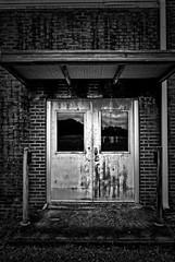 Rusted door (BDM17) Tags: door brick rust mortar rusted oxidation corrosion