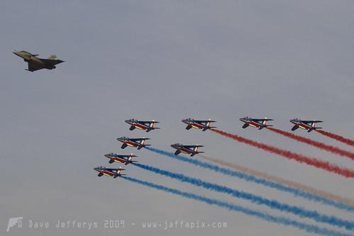 336 Rafale and Patrouille de France