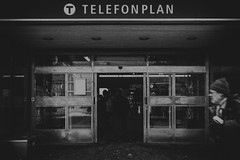 Telefonplan 2013-01-23 (Michael Erhardsson) Tags: station dark photo metro sl filter projekt stockholms fotografering tbana telefonplan 2013 tunnelabana