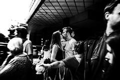 People in the street (KATANGA67) Tags: street people urban bw paris contrast photography photo blackwhite fuji photographie noiretblanc streetphotography nb parisienne photographies x100 parisiens stphotographia fujifilmx100 fujix100