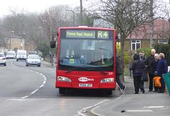 GAL MB 231 - PO56JFF - FRONT - ST MARY'S CRAY - TUE 15TH MAR 2016 (Bexleybus) Tags: street london ahead st high go east marys dennis dart cray metrobus esteem lancs adl 231 orpington goahead po56jff