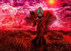 The Spirit Of The Red Dragon (Daniel Arrhakis) Tags: red mystery the mysticsurrealism legendofthegoldenempress