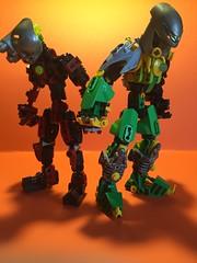 Kaon the Bounty Hunter (Toa Kaon) Tags: starwars lego transformers bionicle toa moc minecraft