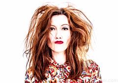 Hmmm... (#Weybridge Photographer) Tags: woman hot cute sexy slr floral girl beautiful lady female canon pose studio eos high model key dress posed adobe 70s highkey 1970s dslr lightroom 40d
