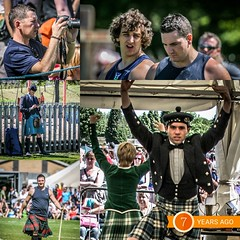 Memory Collage - 7 years ago today Bathgate Highland Games (FotoFling Scotland) Tags: camera mobile kilt photographer phone shooter piper heavy highlandgames westlothian highlanddancing meninkilts bathgate christophermunro higglandgames