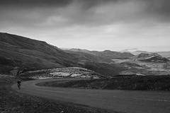 DSC07698 (Gumundur Rbert) Tags: sky white mountain black 35mm cycling climb iceland cloudy f14 sony climbing rolf prima reykjavk sland ares a7ii pansonic samyang reihjl rokinon