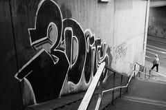 Concrete World (stefankamert) Tags: stefankamert concrete fujifilm fuji x100 x100s alienskin exposure blackandwhite blackwhite sw bw baw noir noiretblanc street graffiti people