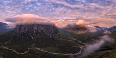 Dean and the Boochles (J McSporran) Tags: mountains clouds sunrise landscape scotland highlands glencoe westhighlands buachailleetivebeag buachailleetivemor bideannambian ef1635mm rivercoupall canon6d ef1635mmf4lisusm