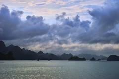 Where The Dragons Descend (tj.blackwell) Tags: halongbay vietnam seascape ocean sea travel world life scenery beautiful fareast cruise karst geology limestone boat ctb mountains tourism cmph vnn