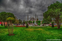 Sultanahmet Mosque (Halil Sopaolu HN I Photography) Tags: mosque sultanahmetmosque europeanside eminn bestshot best travel architectural architecture turkey trees tree skyline sky outdoor buildings dusk sunday follow love color photography photofday photo copyright 6d flickr flickrphoto flower greatshot green halil2016 historicalbuilding hdr hdristanbul hdrcity kadraj like4like like likeforlike landscape light istanbul istanbulfotoraflar infrastructure islam visit nicepicture city citycape canon canoneos6d canonphotography canondsrl canonllenses cloud nice