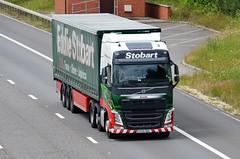 Eddie Stobart 'Amelie' (stavioni) Tags: truck volvo lorry amelie eddie trailer fh esl stobart h4185 fh4 kx15obc