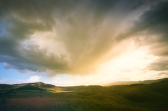 Sunset at Lamar Valley (ratulm) Tags: lamar valley yellowstone sky clouds sunset light mood colors