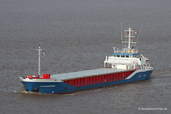 Ship. Fluvius Otter 9117961 (dickodt65) Tags: ship coaster humberbridge