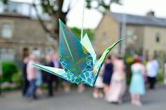 Wedding origami decoration