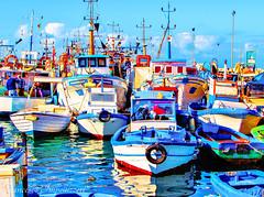 The Port (Francesco Impellizzeri) Tags: port landscape boats sicily sicilia trapani