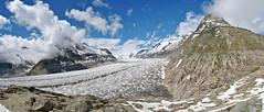 Ice garden (Alpine Light & Structure) Tags: snow alps alpes schweiz switzerland suisse glacier alpen valais berneroberland berneseoberland aletschgletscher aletschglacier mrjelensee