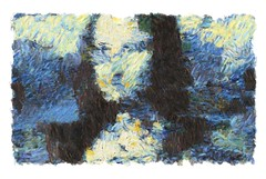 mona lisa - progress 1 (mark knol) Tags: monalisa generative abstract art mark knol progress