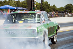 Burnout (Thumpr455) Tags: auto show chevrolet nova car nikon action smoke union may southcarolina nostalgia chevy ag autoracing burnout dragracing seg gasser d800 chevyii dragrace 2016 gassers agas a worldcars theboogieman steelinmotion unioncountydragway southeastgassers afnikkor70200mmf28vrii