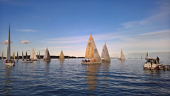 Lht on tapahtunut (Antti Tassberg) Tags: sea sport finland sailing yacht offshore microsoft regatta xl meri sailingboat 950 uusimaa lumia purjevene esbo purjehdus haukilahti alandia suursaarirace pureview iphoneography lumia950 lumia950xl