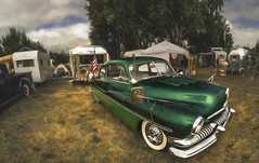StreakSled (Steve Walser) Tags: trailer trailers traveltrailer vintagetrailer silverstreak mercury car sled camping rv summer
