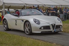 Alfa 4C spyder. (foto.pro) Tags: cars speed track power lap event pageant motorbikes cholmondley