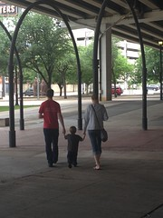 "Daddy and Mommy Walk with Paul to the Perot Science Museum in Dallas • <a style=""font-size:0.8em;"" href=""http://www.flickr.com/photos/109120354@N07/27578489150/"" target=""_blank"">View on Flickr</a>"