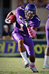 ECU Football '10 (R24KBerg Photos) Tags: ecu eastcarolina eastcarolinauniversity eastcarolinapirates ecupirates football canon dowdyficklenstadium greenvillenc athletics ncaa americanathleticconference pirates giavanniruffin 2010 runningback tailback purple