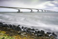 BD__MG_0039 (DirkFotos1) Tags: longexposure bridge sea nederland zeeland zee zeelandbrug leefilter bigstopper