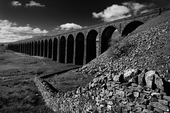 Stonework (images@twiston) Tags: park morning blue light sky blackandwhite bw monochrome grass sunshine stone wall clouds landscape mono spring arch sheep farm stonework yorkshire main railway dry arches farmland line viaduct national fells fields 24 jericho moor carlisle sebastopol northyorkshire midland dales moorland settle 3peaks 1875 ingleborough ribbleheadviaduct ribblehead scheduledancientmonument settleandcarlisle belgravia ribblesdale settlecarlisle yorkshiredalesnationalpark yorkshire3peaks battymoss parkfell battywifehole morningatribblehead